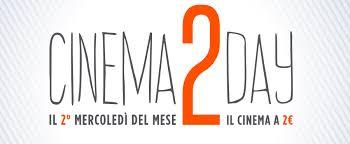 Cinema2day: da domani di nuovo il cinema a 2 euro!
