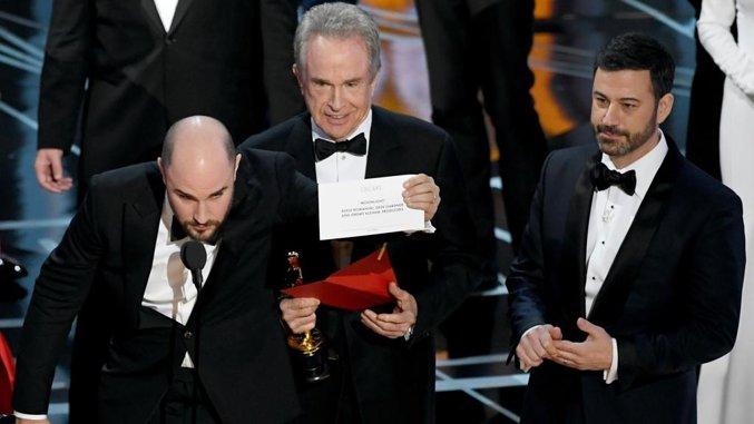 Oscar 2017: licenziato Cullinan per la consegna della busta sbagliata