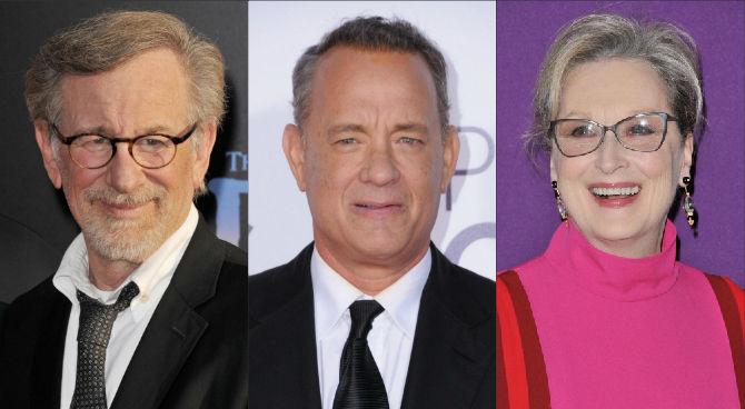 """The post"": Spielberg-Hanks-Streep, insieme per la libertà di stampa"