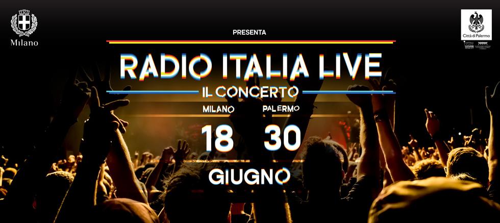 Radio Italia raddoppia: live a Milano e Palermo, Anastacia e Bob Sinclar ospiti!