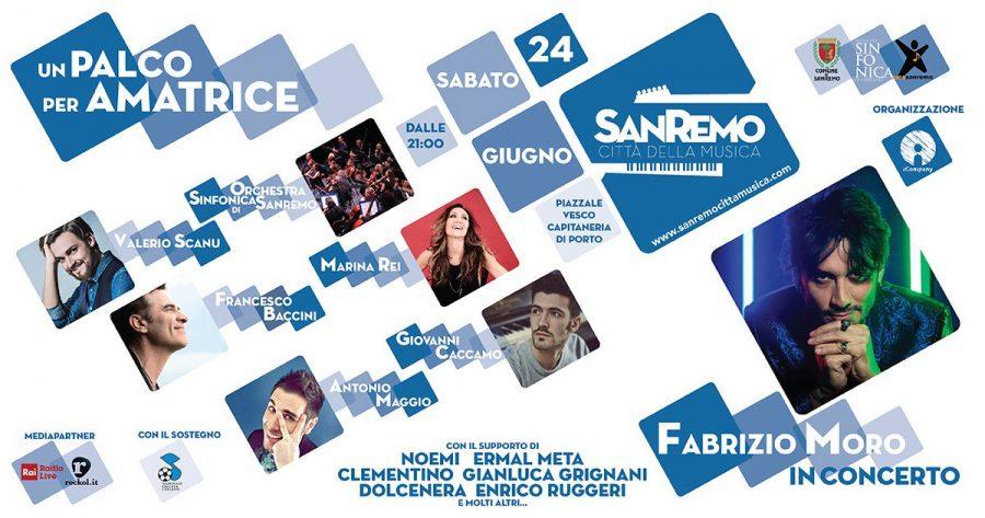 Un palco per Amatrice: a Sanremo l'evento per raccogliere fondi