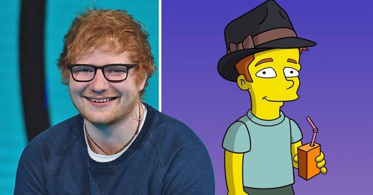"""Ne """"I Simpsons"""" un nuovo e affascinante personaggio… Ed Sheeran!"""