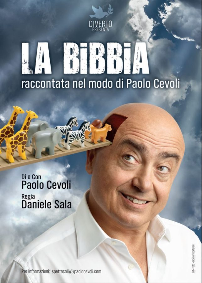 """""""La Bibbia raccontata nel modo di Paolo Cevoli"""" presto in tour!"""