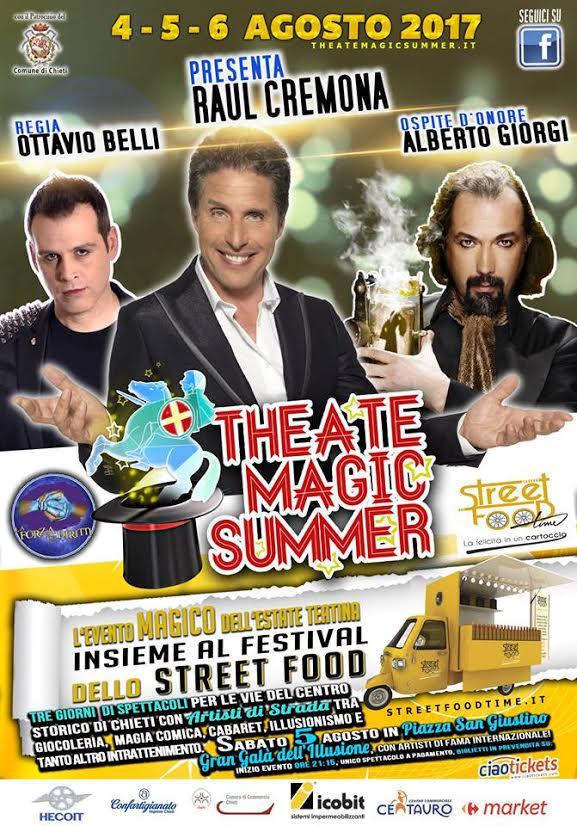 Theate Magic Summer 2017: tutto pronto per la seconda edizione!