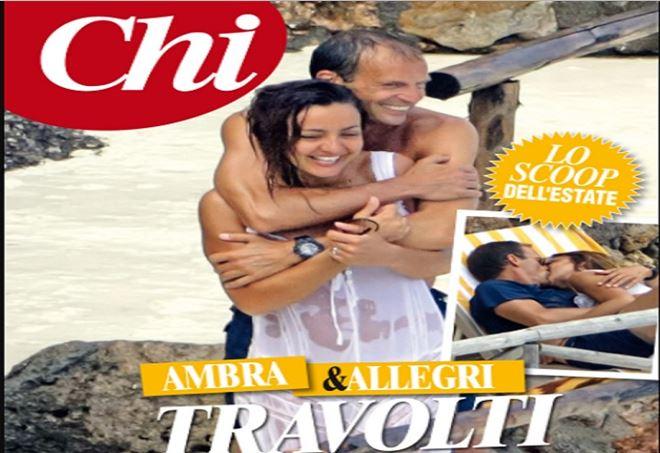 Ambra Angiolini e Massimiliano Allegri: la nuova coppia esce allo scoperto!