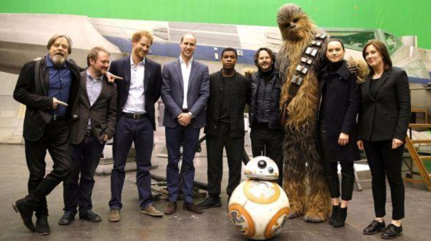 """Star Wars – Gli ultimi Jedi"": i principi William ed Harry nel film!"