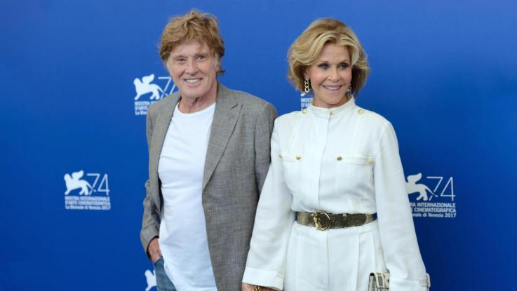 Robert Redford e Jane Fonda emozionano a Venezia 74!
