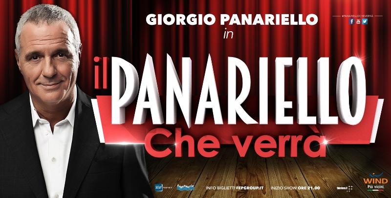 """""""Il Panariello che verrà"""": il nuovo tour teatrale di Giorgio Panariello"""