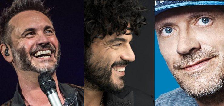 Max Pezzali, Nek e Francesco Renga insieme: ecco il singolo e il tour