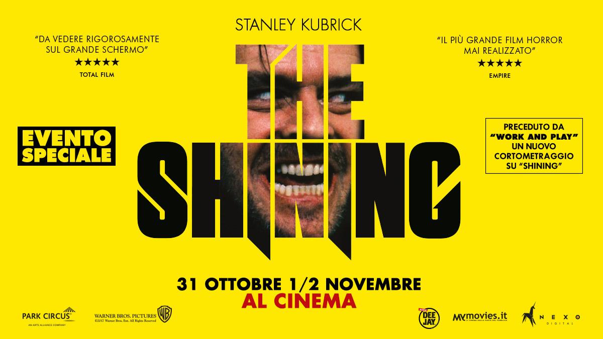 The Shining: aria di horror al cinema per festeggiare Halloween!