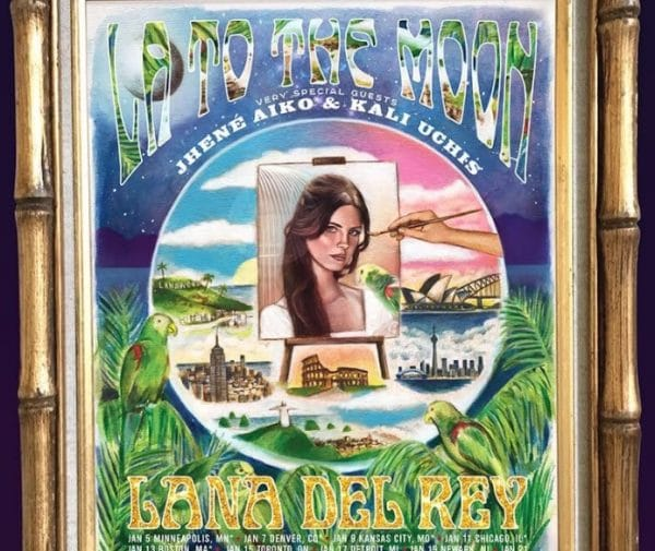 """La To The Moon"": Lana Del Rey presto sarà in tour!"