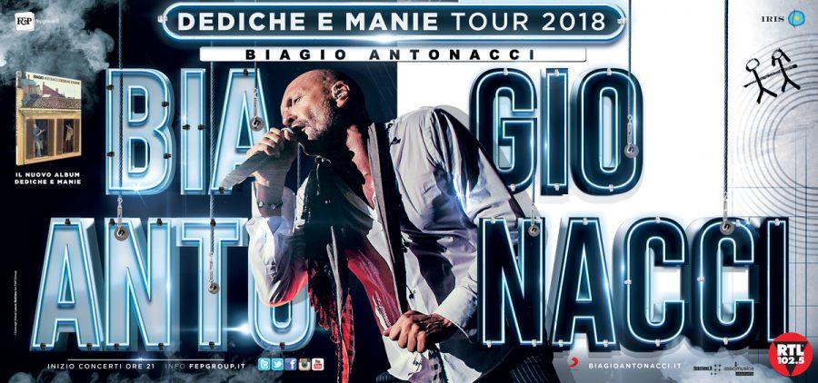 Biagio Antonacci: già tanti sold out e nuove date aggiunte al tour!