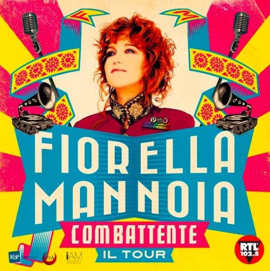 Fiorella Mannoia da record: 100 concerti e date anche in Europa!