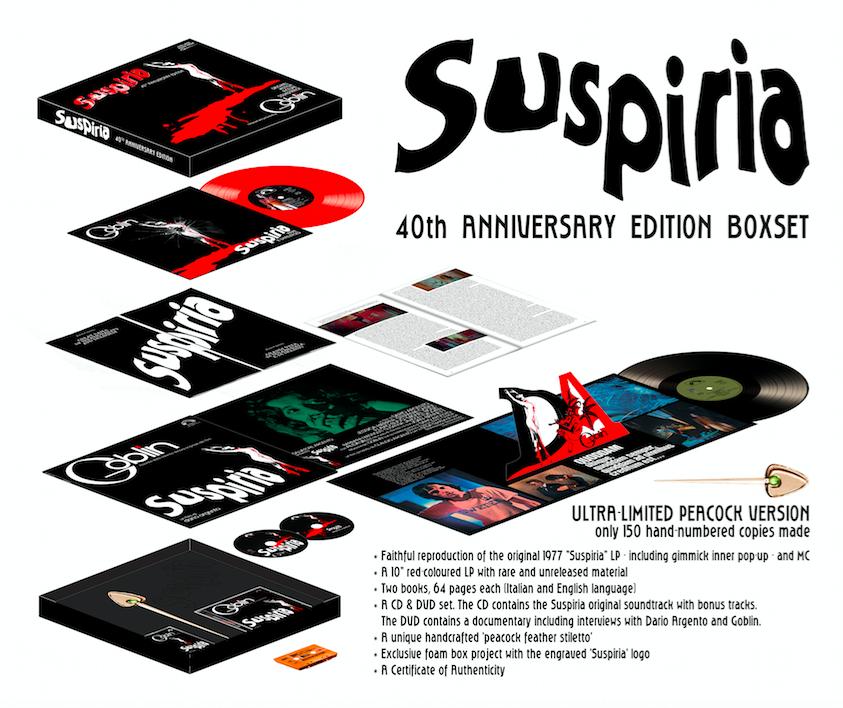 """""""Suspiria"""" di Dario Argento: box celebrativo per i 40 anni dall'uscita!"""