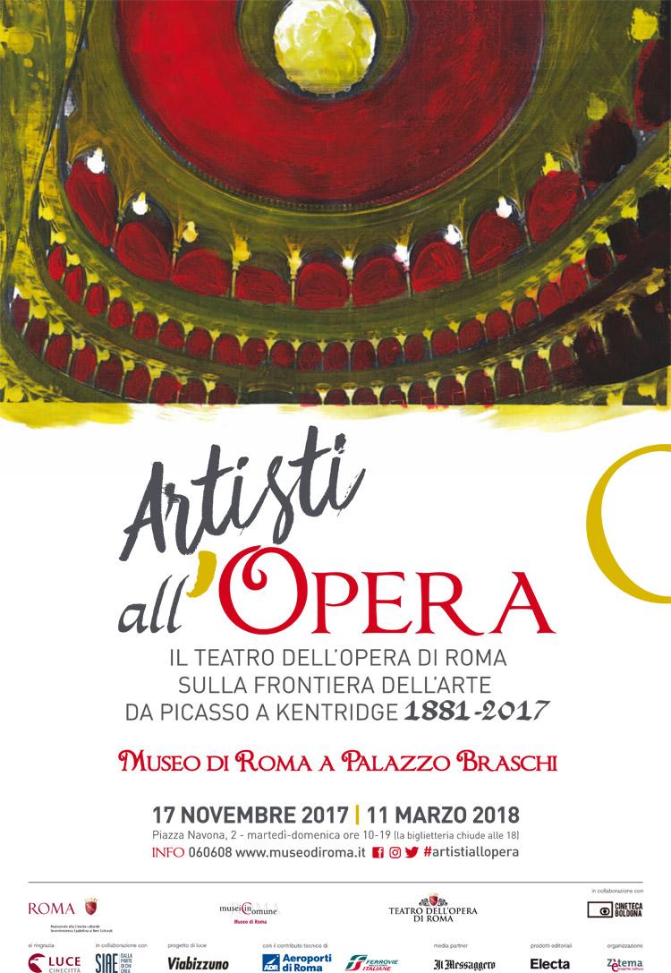 """Al Museo di Roma arriva la mostra """"Artisti all'Opera"""""""