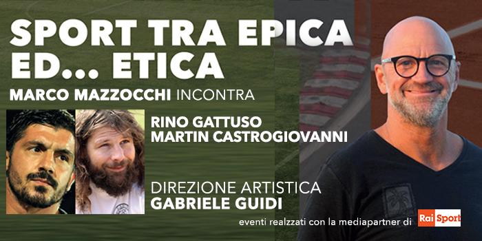Marco Mazzocchi porta lo sport al Teatro Brancaccio di Roma