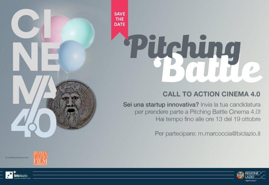 """Il contest """"Pitching Battle Cinema 4.0"""" alla Festa del Cinema di Roma!"""
