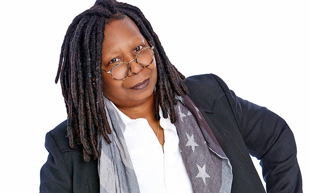 "Whoopi Goldberg presenta in Italia il suo libro ""The Unqualified Hostess"""