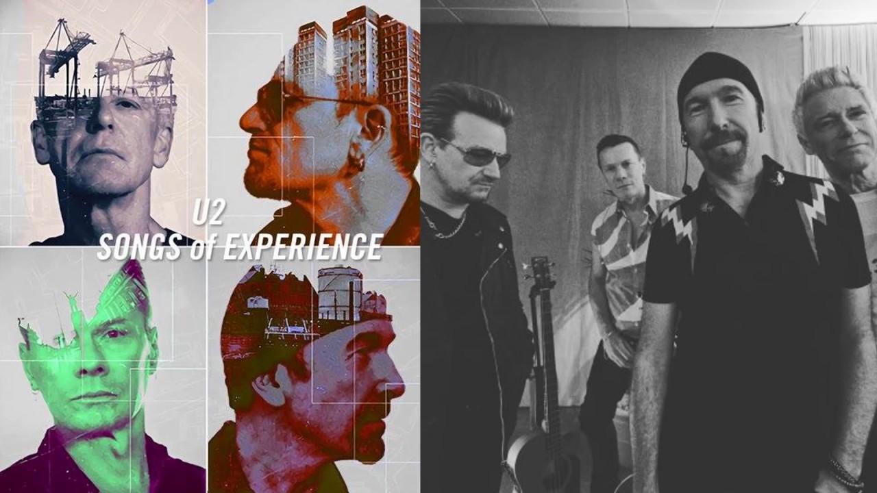 """""""Songs Of Experience"""": Il nuovo album in arrivo degli U2!"""