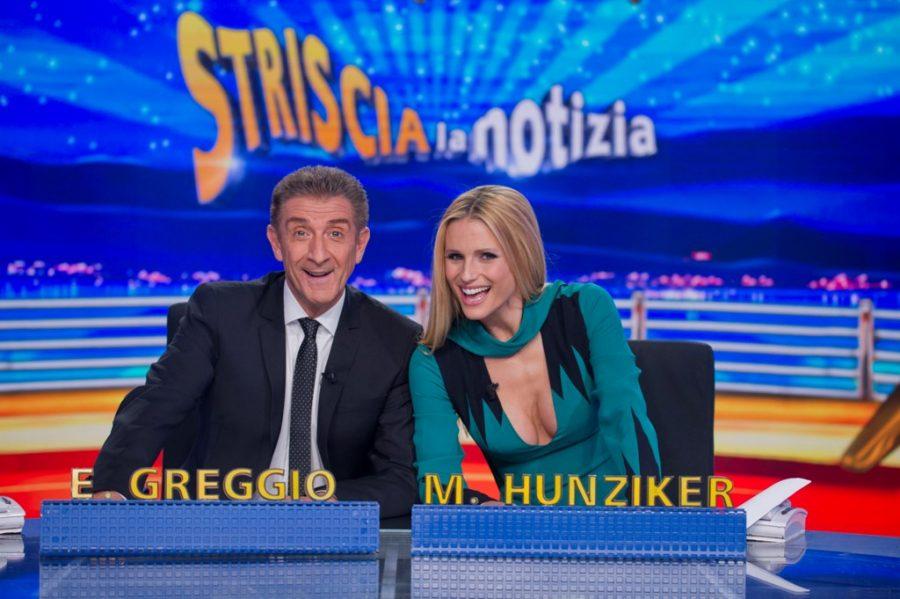 """MichelleHunziker da oggi torna a condurre """"Striscia la notizia""""!"""