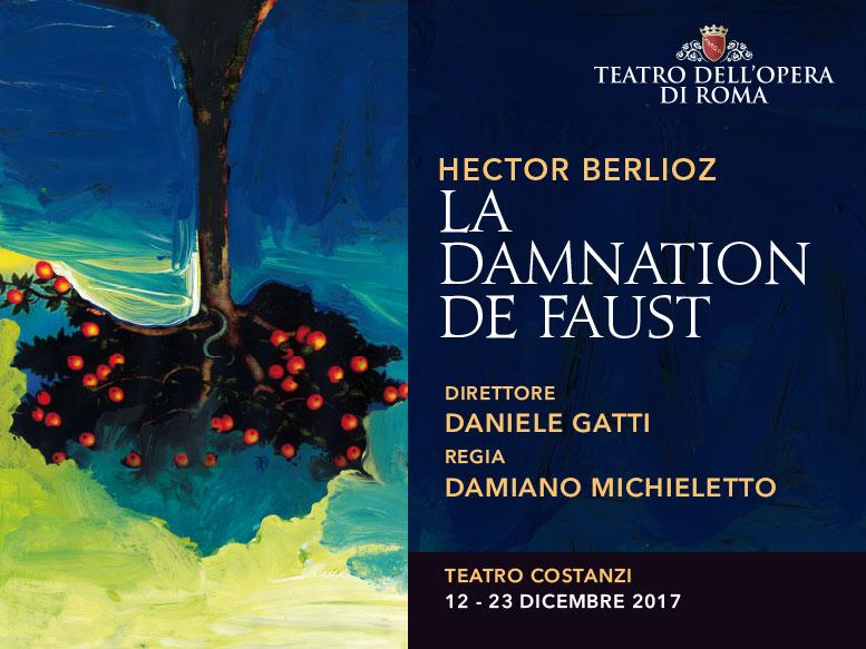 """""""La damnation de faust"""": questa sera il debutto al Teatro dell'Opera di Roma"""