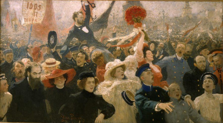 """La recensione di """"Revolutija:da Chagall a Malevich, da Repin a Kandinsky"""""""