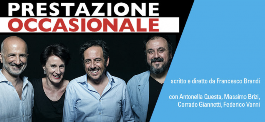 """""""Prestazione occasionale"""": al Teatro de' Servi la divertente commedia"""