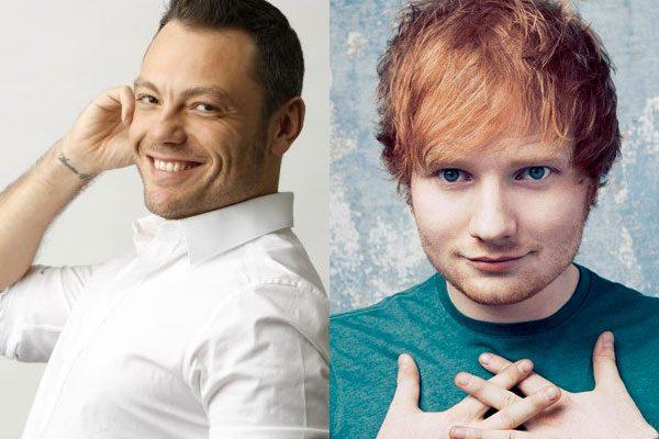 Duetto di Tiziano Ferro con Ed Sheeran: sogno o realtà?
