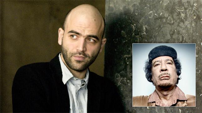 Roberto Saviano a lavoro per una serie Sky su Gheddafi