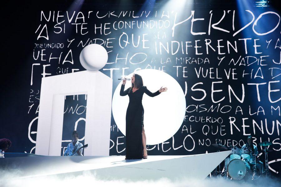 Laura Pausini presentatrice del Premio Lo Nuestro