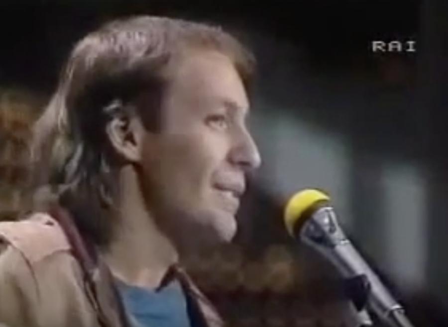 """Sanremo: Vasco Rossi il 3 febbraio 1983 cantava """"Vita Spericolata"""""""