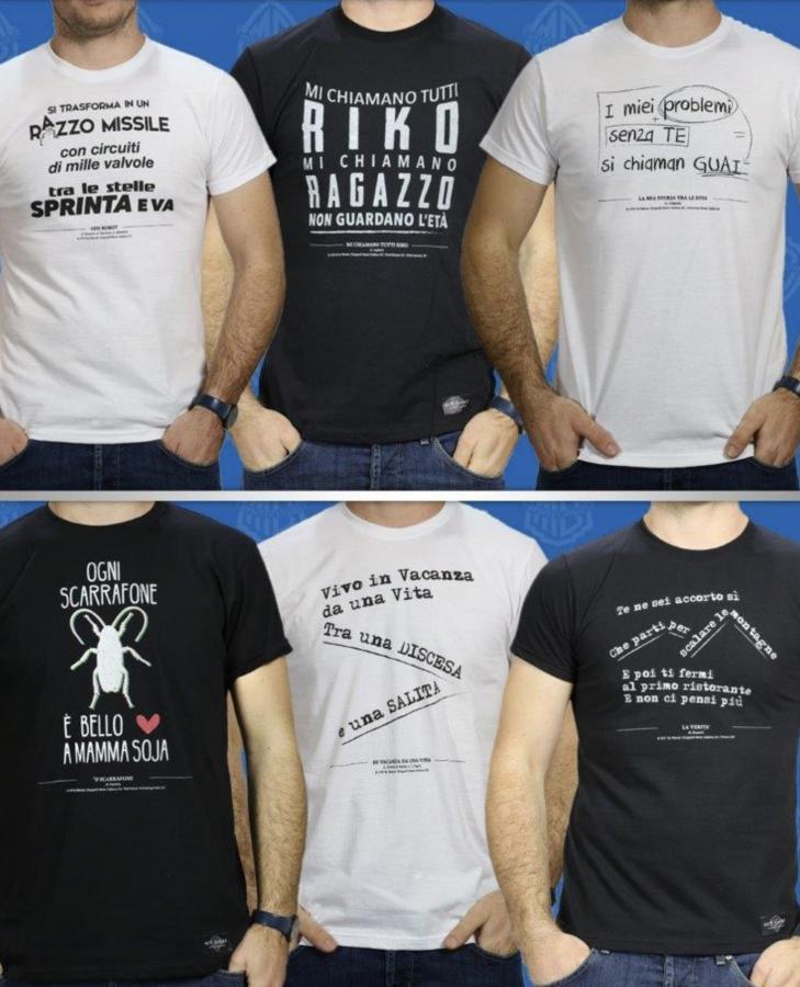 Hit-Shirt: la linea di magliette dedicata alla storia della musica italiana