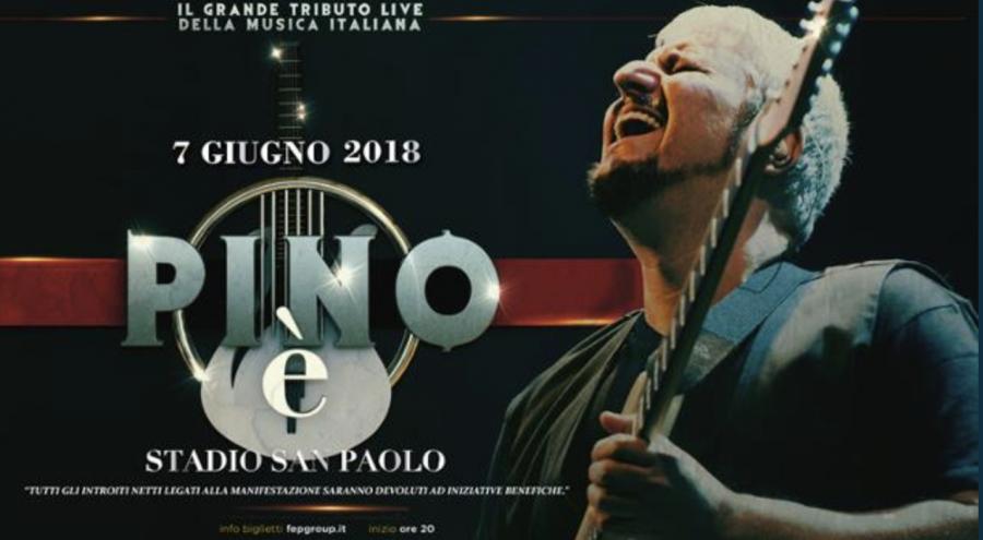 """""""Pino è"""": il concerto-evento dedicato a Pino Daniele, con tanti artisti"""