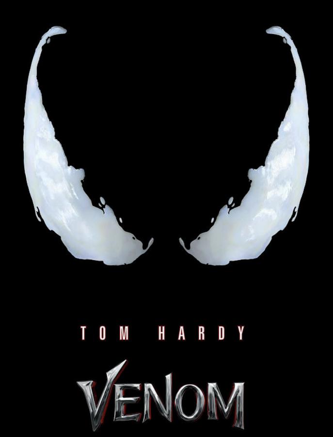 """""""Venom"""": rilasciati il teaser trailer e la locandina del film con Tom Hardy"""
