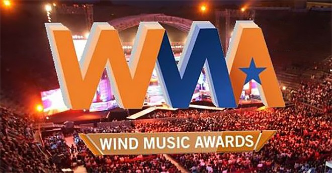 A giugno tornano i Wind Music Awards all'Arena di Verona