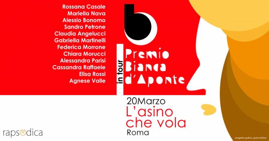 Premio Bianca D'Aponte in Tour: il concorso per cantautrici sarà a Roma