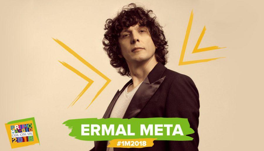Ermal Meta si aggiunge al cast del Concerto del Primo Maggio 2018