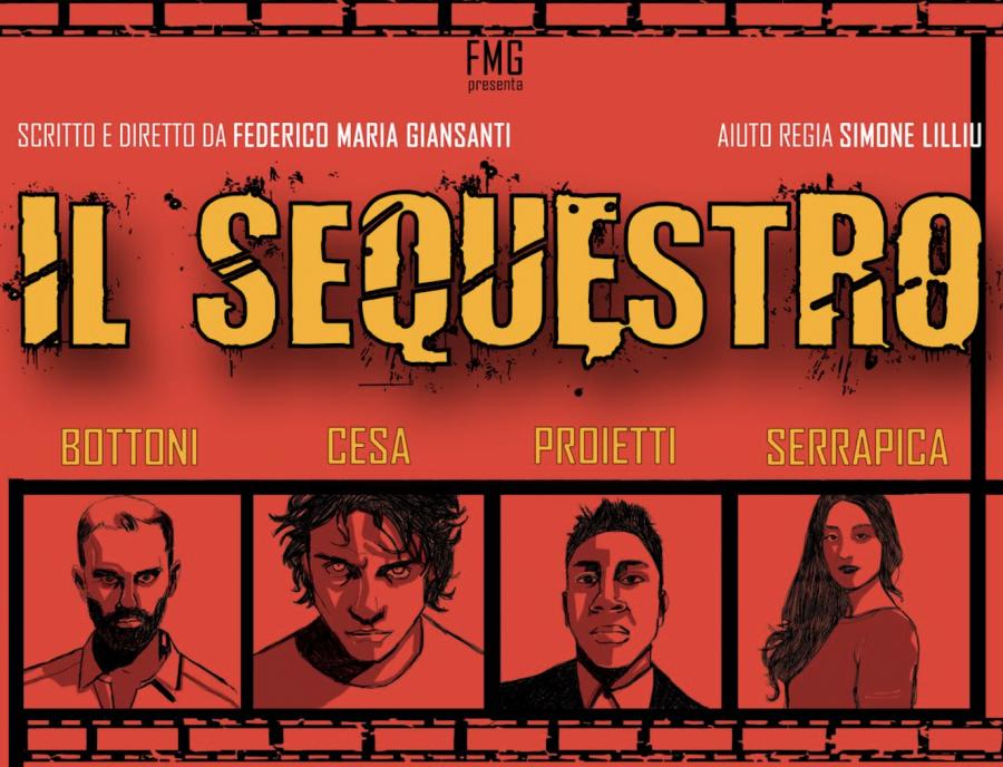 """""""Il sequestro"""" di Federico Maria Giansanti al Teatro Trastevere"""