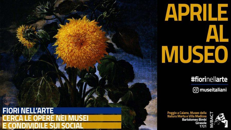 #fiorinellarte è l'hashtag della primavera artistica del MIBACT