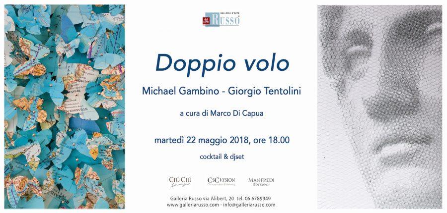 Alla Galleria Russo la mostra di Giorgio Tentolini e Michael Gambino