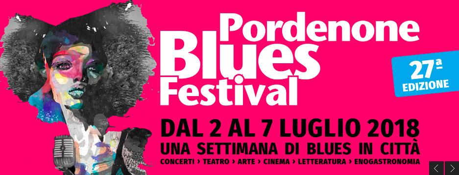 Podenone Music Garden: il percorso musicale al Pordenone Blues Festival