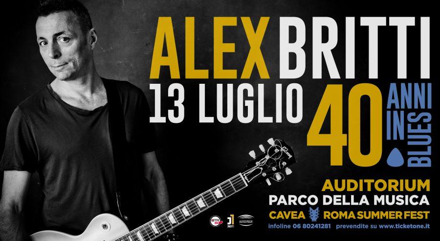 Alex Britti festeggia i 40 anni di carriera all'Auditorium di Roma