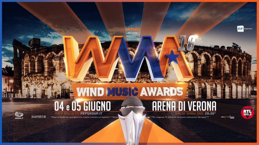 Wind Music Awards 2018: doppio appuntamento all'Arena di Verona