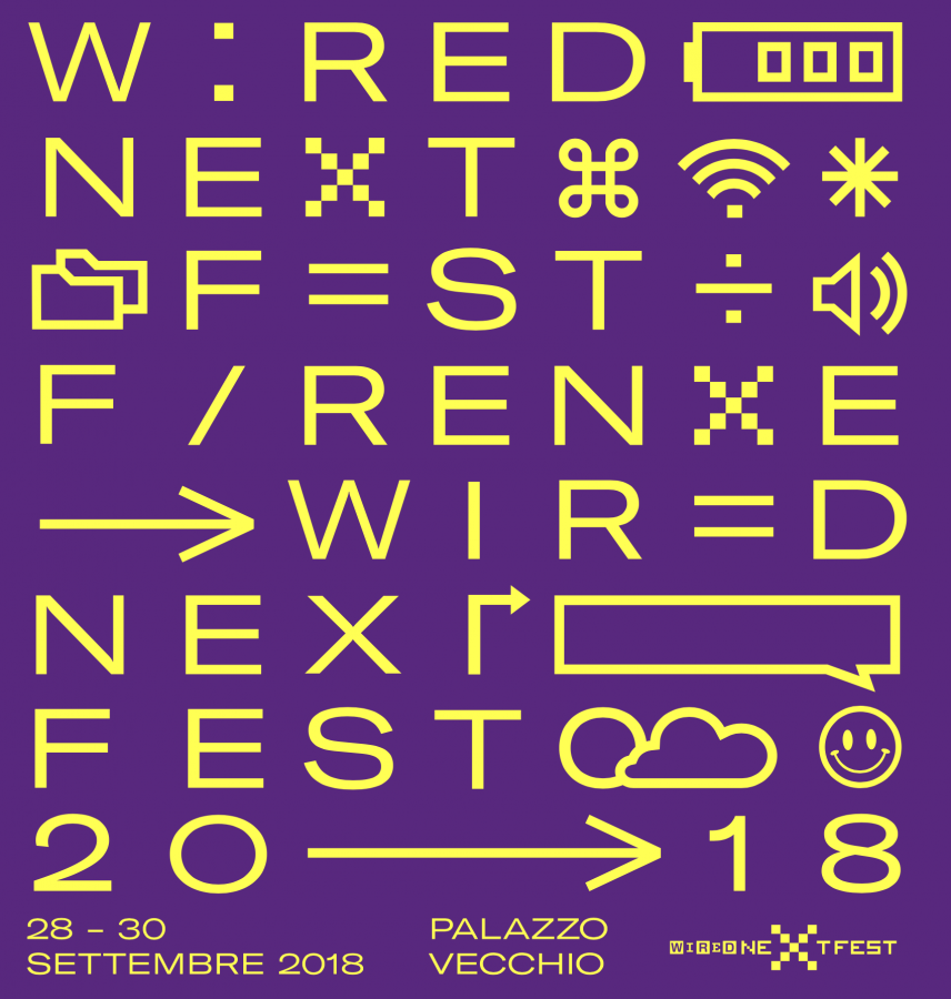 """Wired Next Fest 2018"": ecco il cast per l'evento di Firenze"