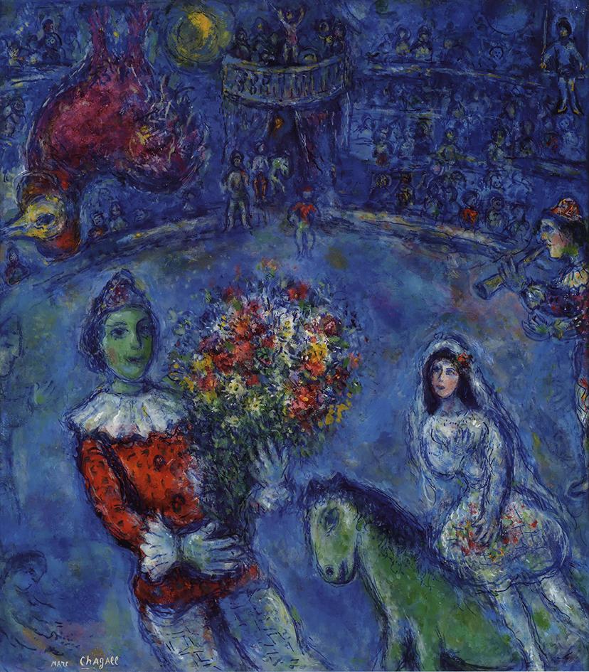 """""""Chagall. Colore e Magia"""": la mostra a Palazzo Mazzetti di Asti"""