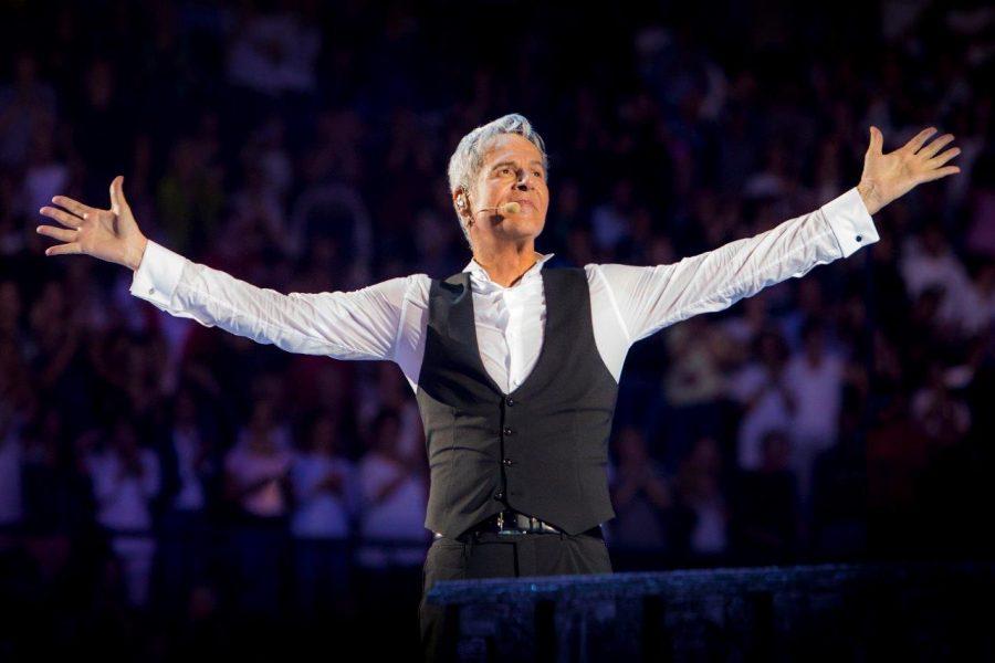 Claudio Baglioni: grande successo ieri a Firenze per la prima data del tour