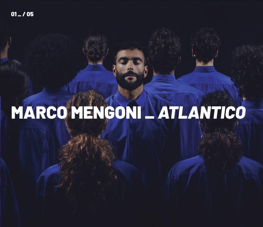 Marco Mengoni, il nuovo album si chiama Atlantico
