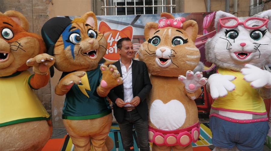 """""""44 gatti"""": la nuova serie animata presentata al """"Lucca Comics & Games"""""""
