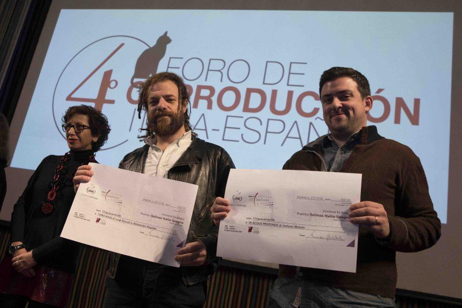 """Premio Solinas Italia-Spagna: vincono """"In Acque Profonde"""" e """"Toro Rojo"""""""