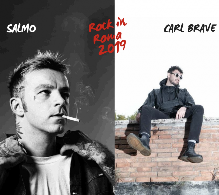 Salmo e Carl Brave: due concerti imperdibili al Rock in Roma 2019
